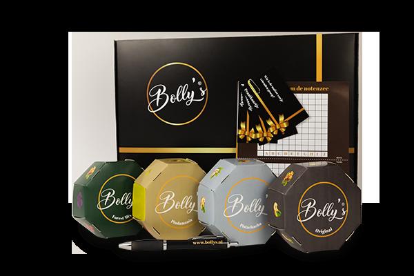 Bolly's box met lekkere mixen en vermaak